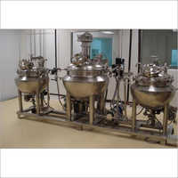 Ointment Section Machinery