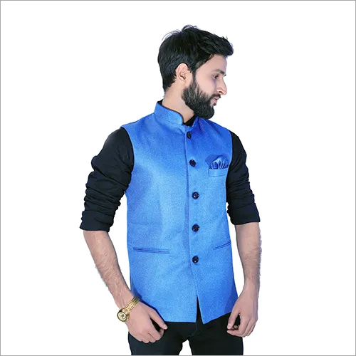 Mens Plain Nehru Jacket