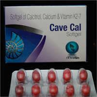 Calcitriol Calcium and Vitamin K2-7 Softgel Capsules