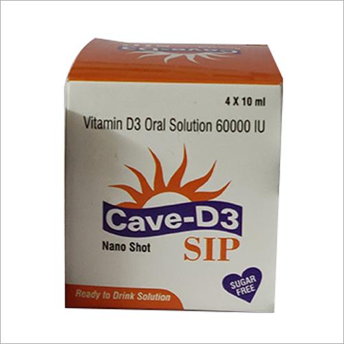 60000 IU Vitamin D3 Oral Solution