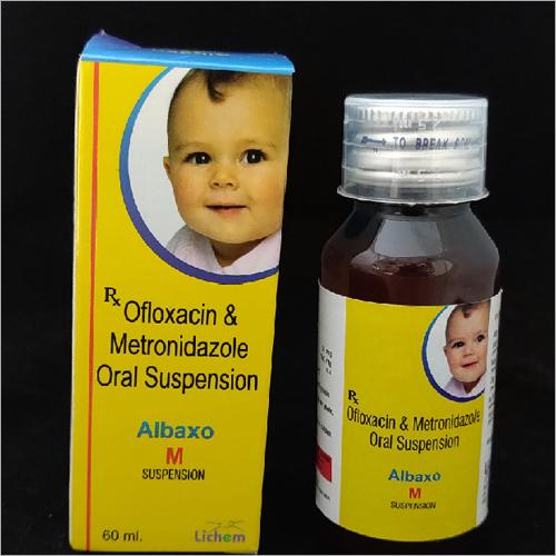 60ml Ofloxacin and Metronidazole Oral Suspension