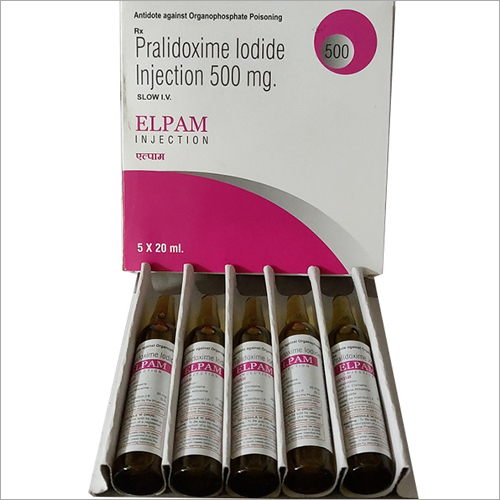 500 mg Pralidoxime Lodide Injection