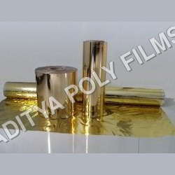 Golden Metalized Polyester Film