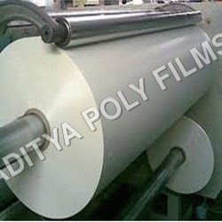 White Opaque Sheet Roll