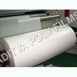 Plastic White Opaque Sheet Roll
