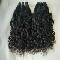 100% Cuticle aligned curly human hair