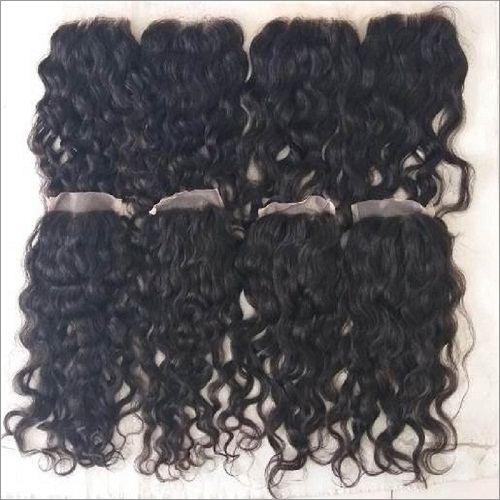 Swiss lace Transparent Curly Closure 4x4