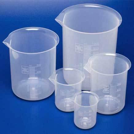 Beaker Glass & Plastic
