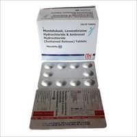 Montelukast Levocetirizine Dihydrochloride And Ambroxol Hydrochloride Tablets