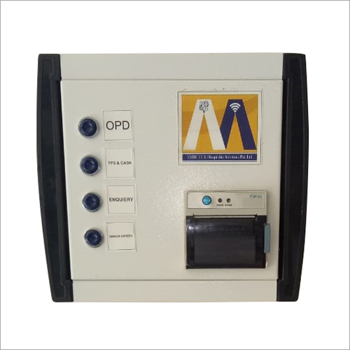 Automatic Printed Token Dispenser Machine