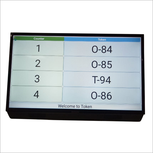 Token Touch Screen Kiosk
