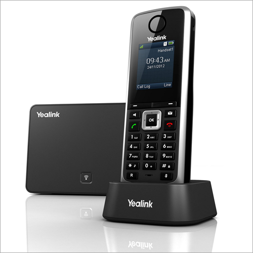 Entry-Mid Level Wireless DECT IP Phone