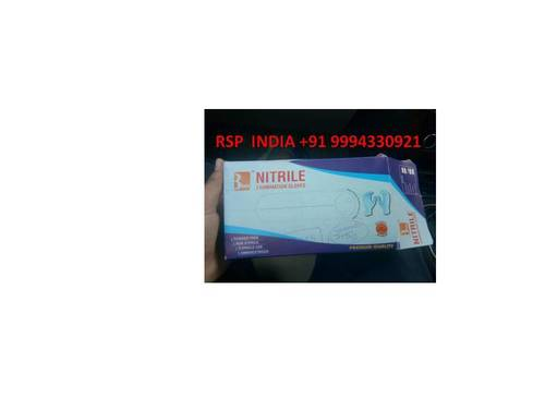3 Safe Nitrile Examination Gloves