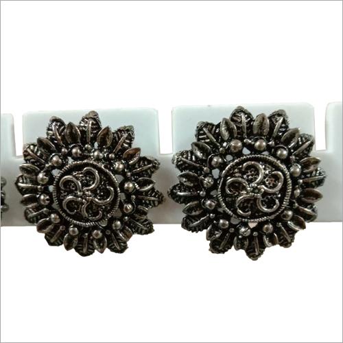 Flower Shape Fancy Earrings