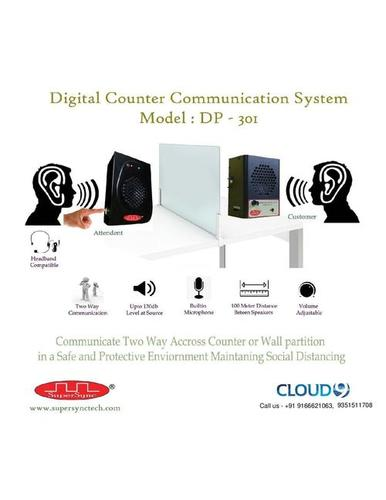 Digital Counter Communication System