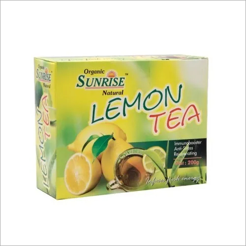 Organic Lemon Tea Indian Spices And Herbs