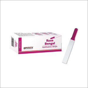 Rose Bengal Ophthalmic Diagnostic Test Strips