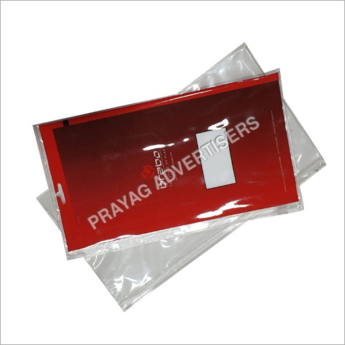 PVC Pouch with Zipper