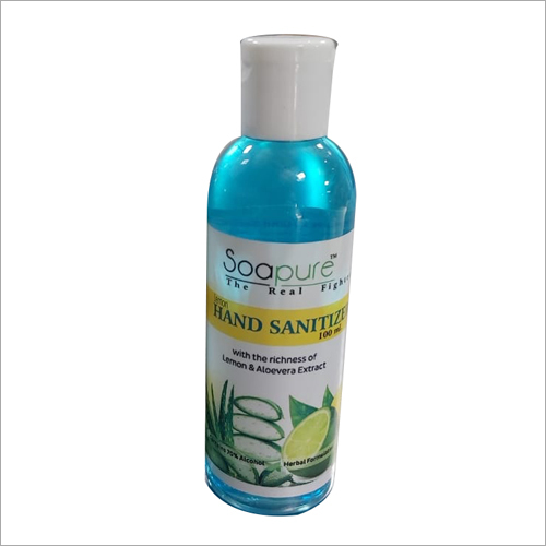 100 ml Lemon And Aloe Vera Extract Hand Sanitizer