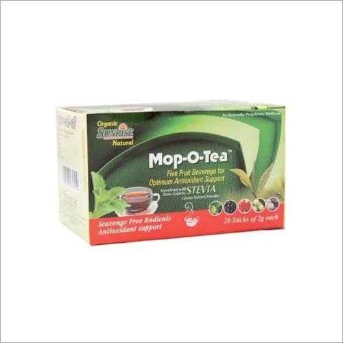 Organic Mop o Tea Stevia Based