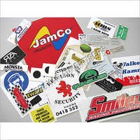 Promotional Publicity Sticker