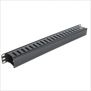 1U PVC Cable Manager