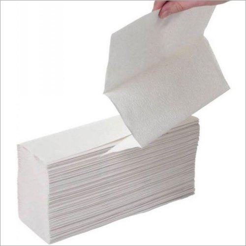 White M Fold Napkin