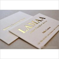 Golden Leaf Visiting card