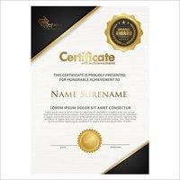Texture Certificate