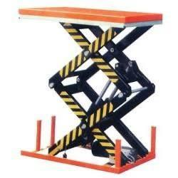 Hydraulic and Electric scissor lifts