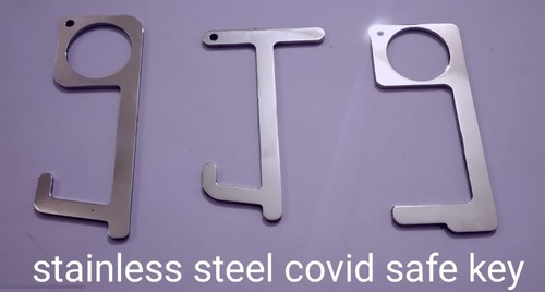 Stainless Steel COVID Safety Key