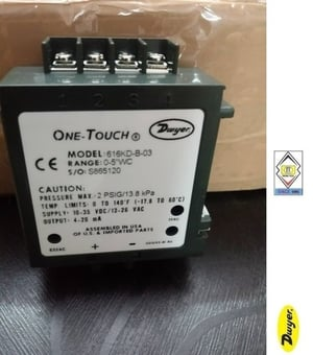 Dwyer 616KD-B-10 Differential Pressure Transmitter