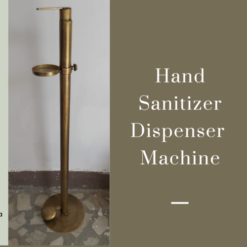 Pedestal Operated Sanitizer Dispenser