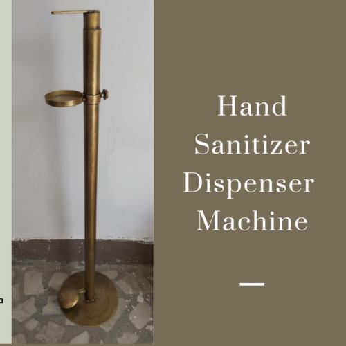 Pedestal Operated Sanitizer Dispenser