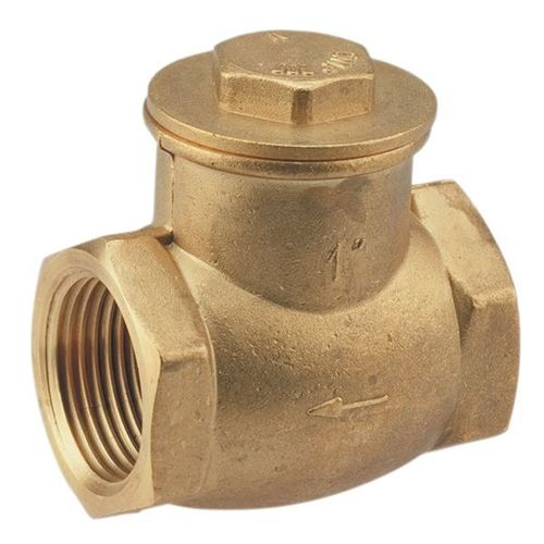 Brass multipurpose check valve