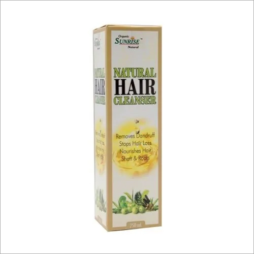 Organic Natural Hair Cleanser Shampoo