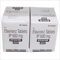 600 mg Efaviranz Tablets IP