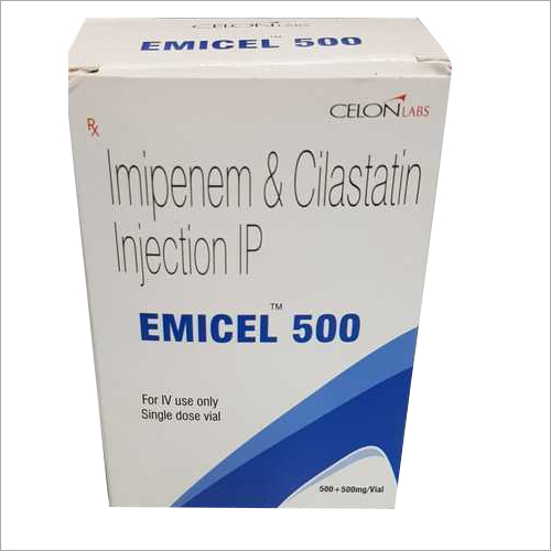 Imipenem and Cilastatin Injection IP