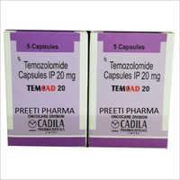20mg Temozolomide Capsules IP