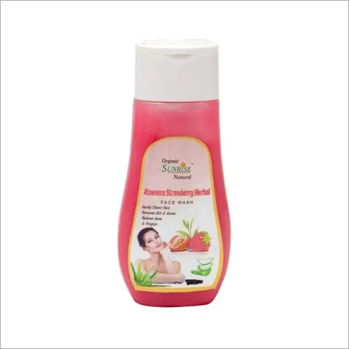 Strawberry Aloevera Face Wash
