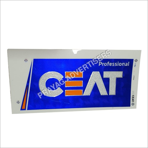 PC Diamond White in Chrome Cricket Bat Sticker
