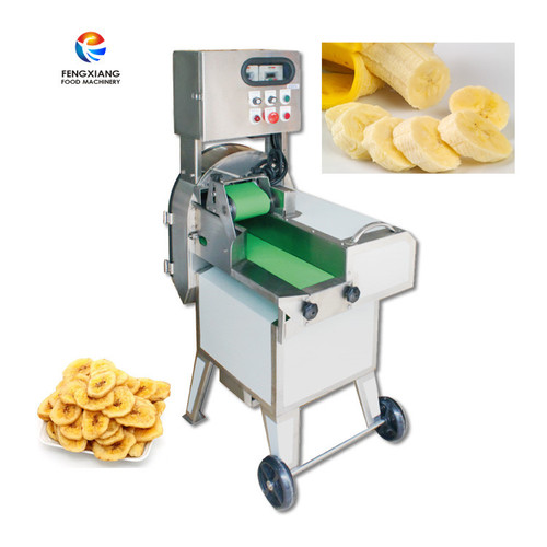 FC-301 multifunctional automatic vegetable cutting machine vegetable dicer machine banana chips cutter machine