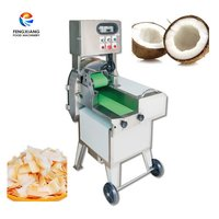 FC-305 automatic coconut cutting machine coconut slicing machine
