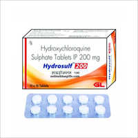 200 MG Hydroxychloroquine Sulphate Tablet IP