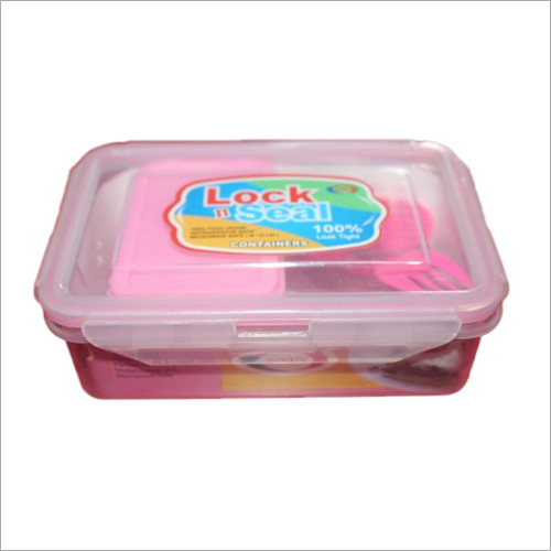 500 ml Pink Lock N Seal Lunch Box