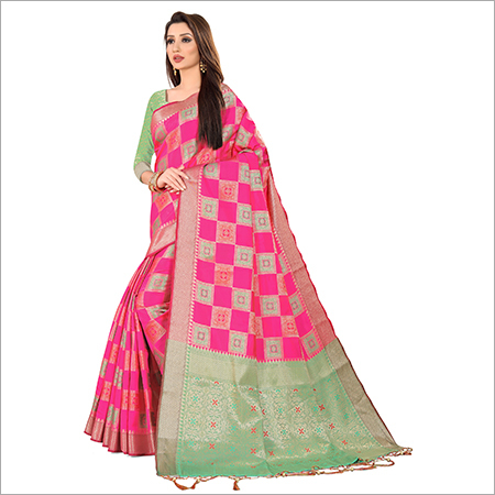 Banaras Weaved Saree