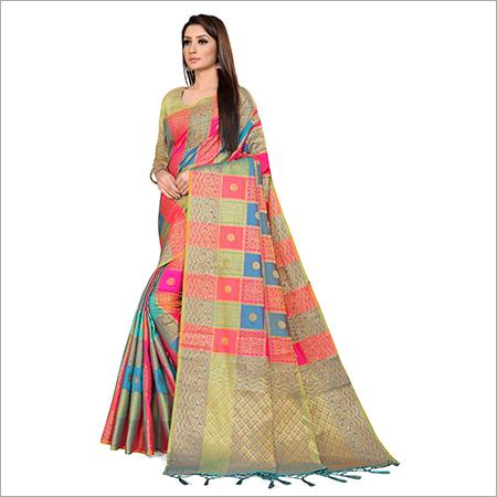 Banaras Weaved Saree