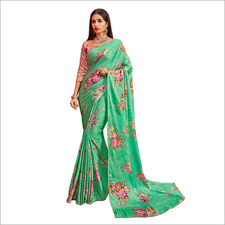 Japan Crepe Silk Sarees