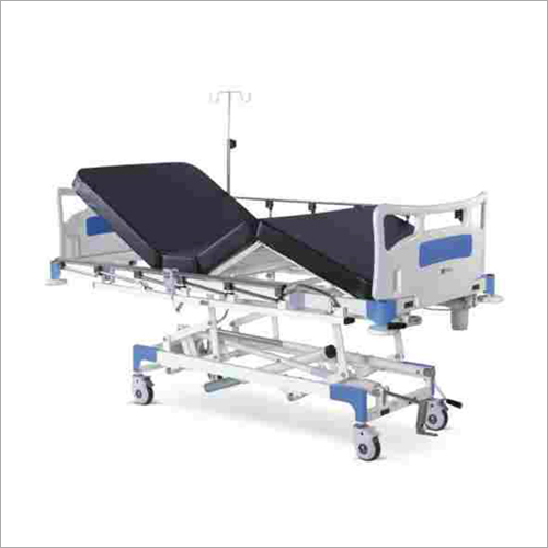 Semi Motorized ICU Bed With Backrest