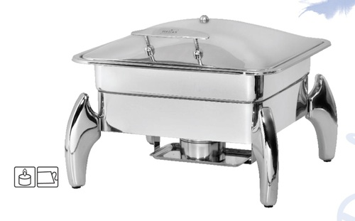 Chafing Dish Lift Top 6.5 ltr. with Tiger Stand